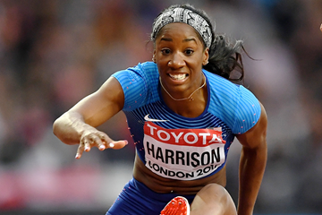 US sprint hurdler Kendra Harrison (Getty Images)