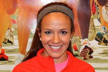 Amy Van Alstine before the 2013 Freihofer's Run for Women  (Freihofer's Run for Women organisers)