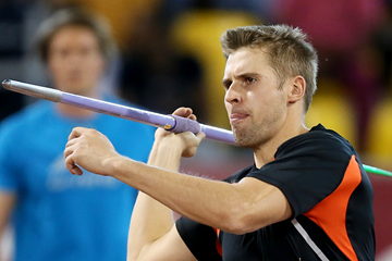 Finnish javelin thrower Antti Ruuskanen (AFP / Getty Images)