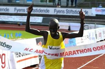 Luka Kipkemboi Chelimo wins in Odense (Michael Hyllested)
