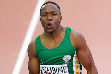 South African sprinter Akani Simbine (Getty Images)