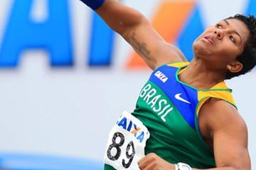 Geisa Arcanjo at the 2012 South American U23 Champs (Wagner Carmo/CBAt)