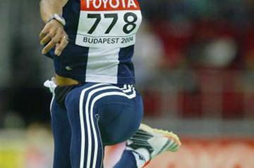 Yamile Aldama (SUD) qualifies for the women's Triple Jump final (Getty Images)
