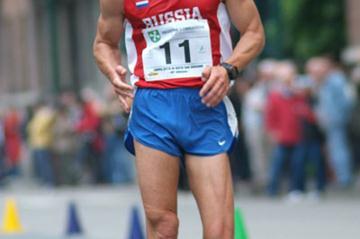 Russia's Ilya Markov en route to a dominating win in Sesto San Giovanni (Lorenzo Sampaolo)