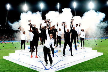 The 16 IAAF Diamond League winners crowned in Zurich (Mark Shearman)