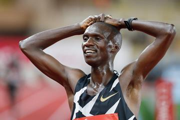 Ugandan distance runner Joshua Cheptegei (AFP / Getty Images)