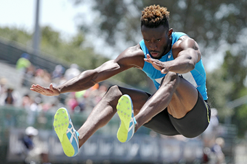 Jarrion Lawson, winner of the long jump at the US Championships (Getty Images)