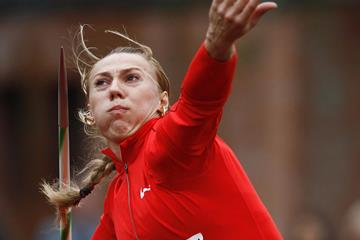 Russian javelin thrower Mariya Abakumova (Getty Images)