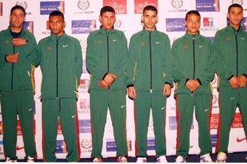 Morocco's men junior team (Mohammed Benchrif)
