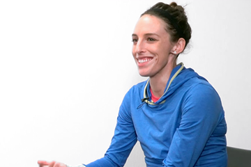 Gabriele Grunewald on IAAF Inside Athletics (IAAF)