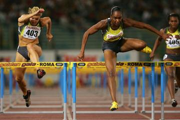 Michelle Perry's world leading 12.44 in Rome (Getty Images)