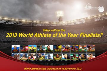 2013 World Athlete of the Year candidates (IAAF)