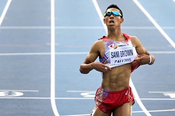 Hakim Sani Brown in the 200m at the IAAF World Youth Championships Cali 2015  (Getty Images)