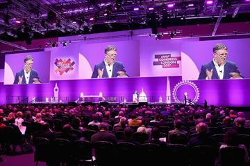 IAAF President Sebastian Coe at IAAF Athletics Connect in London (Getty Images)