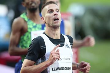 Polish middle-distance runner Marcin Lewandowski (AFP / Getty Images)