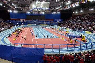 The IAAF World Indoor Championships in Birmingham (Getty Images)