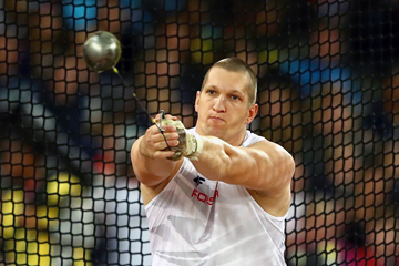 Wojciech Nowicki of Poland in action in the men's hammer final at the IAAF World Championships London 2017 (Getty)