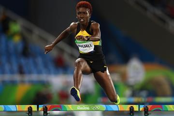 Janieve Russell at the Rio 2016 Olympic Games (Getty Images)