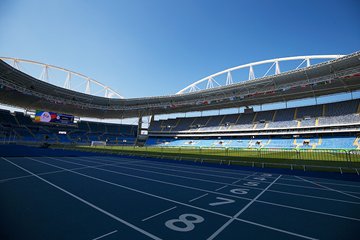 A general view of the Olympic Stadium in Rio (Getty Images)
