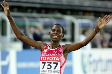 Ugandan distance runner Docus Inzikuru (Getty Images)