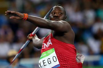 Julius Yego in the javelin at the Rio 2016 Olympic Games (Getty Images)