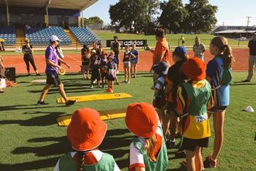 The World Athletics Day festivities in Cairns, Australia (Athletics Australia)