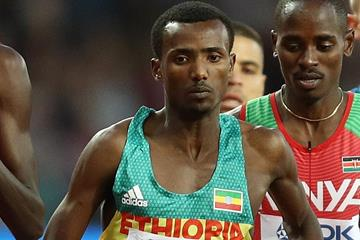 Ethiopian middle-distance runner Samuel Tefera (Getty Images)