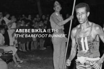 Abebe Bikila (ETH) ()