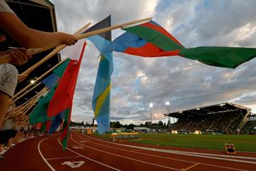 The opening ceremony of the 2014 IAAF World Junior Championships in Eugene (Getty Images)