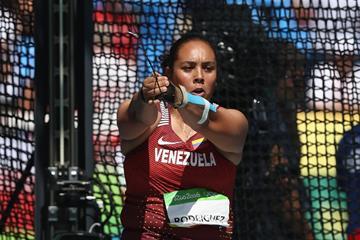 Venezuela hammer thrower Rosa Rodriguez (Getty Images)