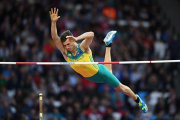 Kurtis Marschall in the pole vault final at the IAAF World Championships London 2017 (Getty Images)