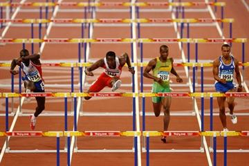 Dayron Robles and Ladji Doucoure cruise into the men's 110m hurdles final (Getty Images)