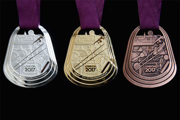 Medals for the IAAF World Championships London 2017 (LOC)