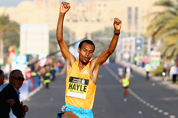 Ethiopian distance runner Lemi Berhanu Hayle (Getty Images)