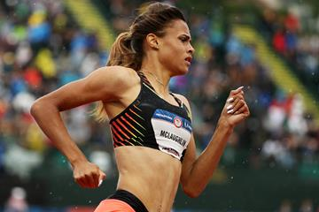 US sprinter Sydney McLaughlin (Getty Images)