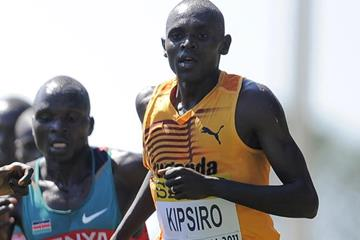 Moses Kipsiro in the senior men's race at the IAAF World Cross Country Championships (Getty Images)