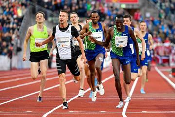 Marcin Lewandowski wins the Dream Mile at the IAAF Diamond League meeting in Oslo (Deca Text & Bild)