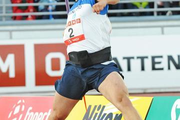 Tero Järvenpää winning against Sweden (Hasse Sjogren)