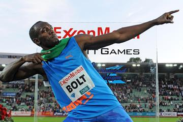 Usain Bolt, victorious at the Oslo Diamond League once more (Mark Shearman)