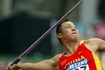 Li Rongxiang wins third consecutive Javelin Throw title - Asian Champs, Korea (c)