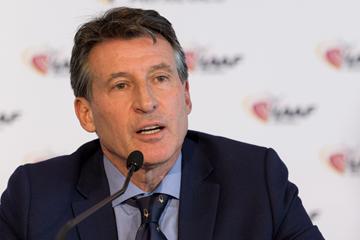 IAAF President Sebastian Coe (Philippe Fitte / IAAF)