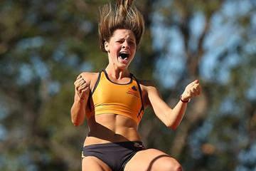 Nina Kennedy at the 2013 Australian Junior Championships (Getty Images)