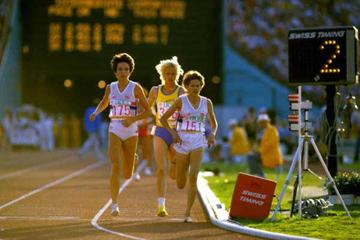 1984 Olympic 3000m Final - Sly, Puica, Budd (Getty Images)