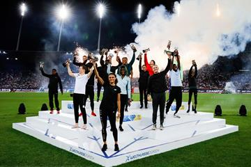 The 16 Diamond League champions crowned in Zurich (AFP / Getty Images)