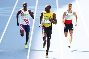 Usain Bolt wins the 200m at the Rio 2016 Olympic Games (Getty Images)