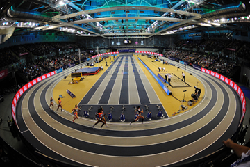 The IAAF World Indoor Tour meeting in Glasgow (AFP / Getty Images)