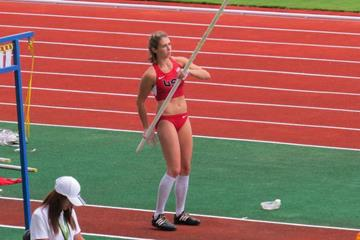 Kristen Hixson at the 2015 NACAC Senior Championships in Costa Rica (Organisers)
