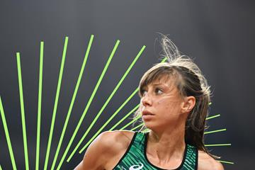 Bulgarian high jumper Mirela Demireva (AFP / Getty Images)