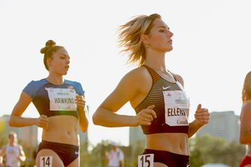 Georgia Ellenwood at the Pan American Combined Events Cup in Ottawa (Brian Rouble)