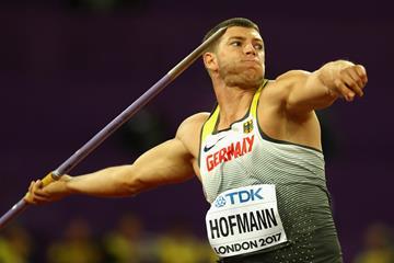 German javelin thrower Andreas Hofmann (Getty Images)